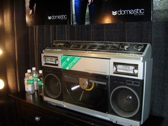 i think i want to marry this boombox.